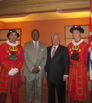 Rittenhouse VP David Benton & Honorary British Consul General