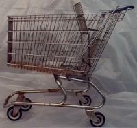 Rusty Shopping Carts - Danger to Your Food and Health