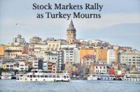 Stock Markets Rally over Loss of Life and Sorrow.