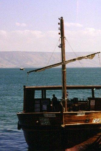 Christian Travel Journal - Jesus Era Boat