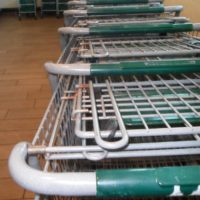Rusty Shopping Carts - Food Insecurity