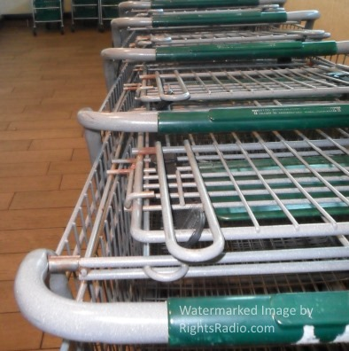 Rusty Shopping Carts at The Fresh Market