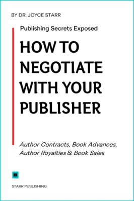 Book deals, book contracts.