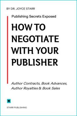 Book deals, book contracts.